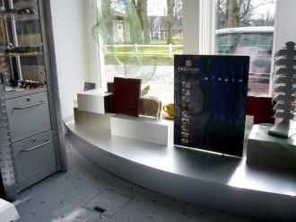 Ausstellungsbereich Augenoptik